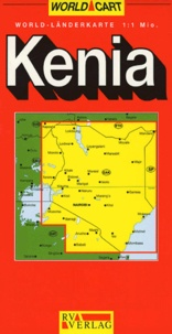 RV Verlag - Kenia - 1/1 000 000.