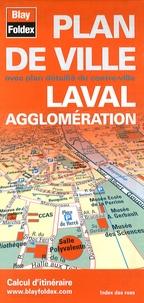 Blay-Foldex - Laval plan de ville.