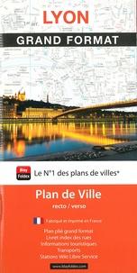 Blay-Foldex - Lyon grand format - 1/15 000. 1 Plan détachable