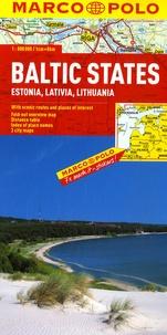 Marco Polo - Pays baltes - Estonie, Lettonie, Lituanie 1/800 000.