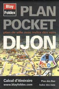 Galabria.be Plan Pocket Dijon - Plan de ville avec index des rues Image