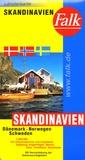 Falk - Skandinavien/Skandinavia - 1/800 000.