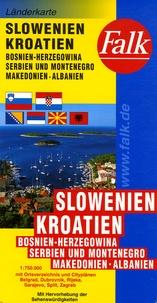 Falk - Slowenien Kroatien - 1/750 000.