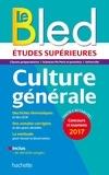 Bled Etudes Supérieures Culture Générale.