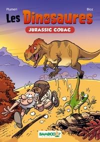 Bloz et Arnaud Plumeri - Les Dinosaures en BD - Jurrasic Couac.