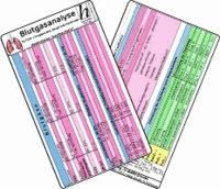 Blutgasanalyse für Früh- / Neugeborene, Säuglinge & Kinder - Medizinische Taschen-Karte.