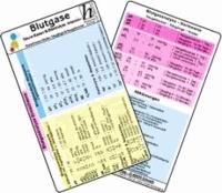 Blutgase, Säure-Basen & Elektrolyte -Intensiv- - Medizinische Taschen-Karte - für Erwachsene, Kinder, Säuglinge & Neugeborene.