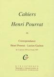 Henri Pourrat - Cahiers Henri Pourrat N° 16 : Correspondance Henri Pourrat - Lucien Gachon - Du 13 janvier 1954 au 10 juin 1959.