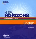 Bob Adamson et Jenni Guse - New horizons for languages English. 1 Cédérom