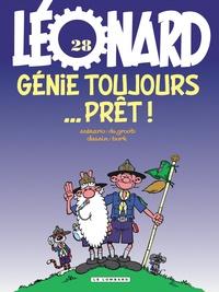 Bob De Groot et  Turk - Léonard Tome 28 : Génie toujours prêt !.