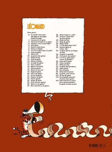 Léonard Tome 46 Le génie crève l'écran