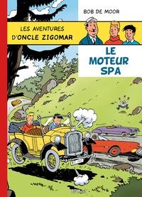 Bob De Moor - Les aventures d'oncle Zigomar Tome 2 : Le moteur Spa.