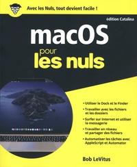 Bob LeVitus - MacOS édition Catalina pour les nuls.