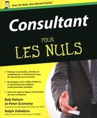 Bob Nelson et Peter Economy - Consultant pour les nuls.