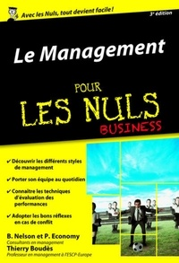 Le management pour les nuls business - Bob Nelson, Peter Economy - Format ePub - 9782412019092 - 8,99 €