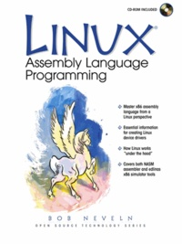 Linux. Assembly Language Programming, With CD-ROM.pdf