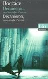 Boccace - Décaméron, neuf nouvelles d'amour - Edition bilingue français-italien.