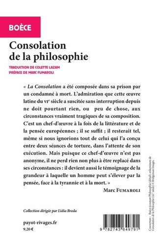 Consolation de la philosophie