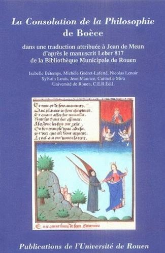 Boèce - La consolation de la philosophie de Boèce. 1 Cédérom