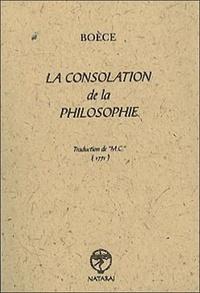 Boèce - La consolation de la philosophie.