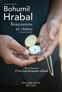 Bohumil Hrabal et Claudia Ancelot - Pavillons Poche  : Rencontres et visites.