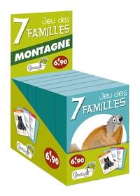 boite de 6 jeux de 7 familles montagne en illustrations.