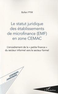 Le statut juridique des établissements de microfinance (EMF) en zone CEMAC - Lencadrement de la petite finance du secteur informel vers le secteur formel.pdf