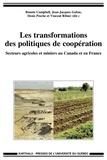 Bonnie Campbell et Jean-Jacques Gabas - Les transformations des politiques de coopération - Secteurs agricoles et miniers au Canada et en France.
