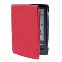Bookeen - Couverture rouge vermillon liseuse Cybook Odyssey.