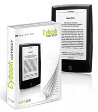 Bookeen - Liseuse Cybook Odyssey V1- Noire.