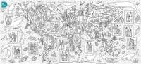 Bordas - La carte du monde.