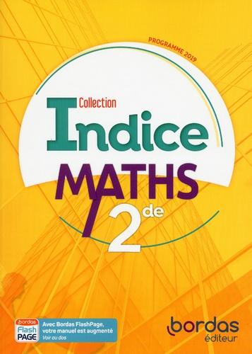 Bordas - Maths 2de Indice.