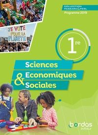 Bordas - Passard & Perl Sciences économiques et sociales 1re - Manuel de l'élève.