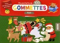 Borghild Fallberg - Ma pochette de 100 gommettes Noël.