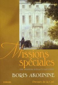 Boris Akounine - Eraste Fandorine Tome 5 : Missions spéciales.