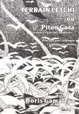 Boris de Gamaleya - Terrain letchi - Ou Piton Gora, la douce chair des nombres....