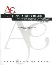Deedr.fr Comprendre la musique - Contributions à La Nouvelle Revue Française et à La Revue musicale (1921-1956) Image