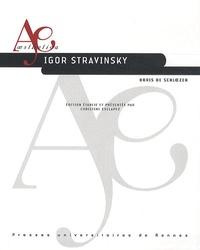 Boris de Schloezer - Igor Stravinsky.