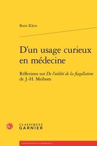 Ucareoutplacement.be D'un usage curieux en médecine - Réflexions sur De l'utilité de la flagellation de J.-H. Meibom Image