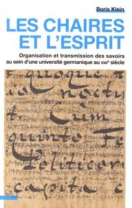 Openwetlab.it Les chaires et l'esprit - Organisation et transmission des savoirs au sein d'une université germanique au XVIIe siècle Image