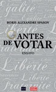 Boris Spasov - 1 euro antes de votar - Ensayo político.