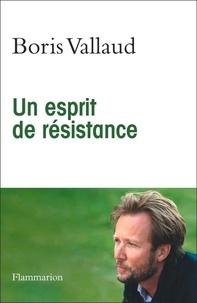 Boris Vallaud - Un esprit de résistance.