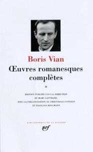 Oeuvres romanesques complètes- Tome 2 - Boris Vian | Showmesound.org
