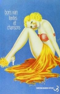 Boris Vian - Textes et chansons.
