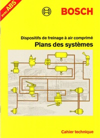 Bosch - Plans des systèmes pour dispositifs de freinage à air comprimé.