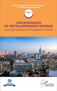 Deedr.fr Gouvernance et développement humain - Volume 1, Sociologie politique et développement humain Image