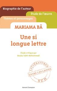 Bouba Tabti-Mohammedi - Une si longue lettre, Mariama Bâ.