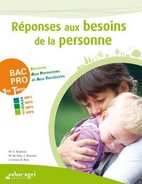 BOULICOT - Réponses aux besoins de la personne BAC PRO Services aux personnes et aux territoires 1re-Tle.
