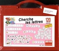 Akros - Cherche les lettres - Avec 120 pièces de puzzle.
