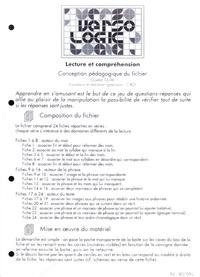 Gisèle Muller - Versologic - Lecture et compréhension CP.
